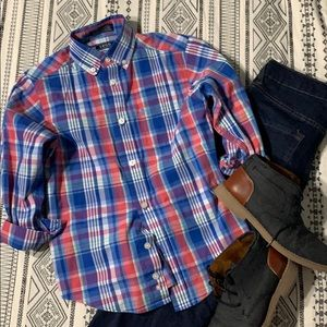 ‼️2 For $15 Deal‼️Boys Size 8 IZOD button down